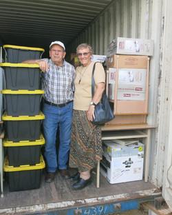 New supplies (sister Maureen)
