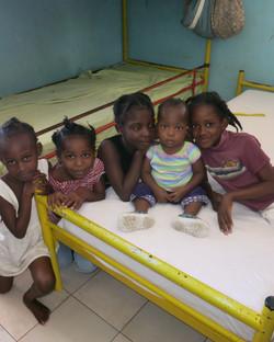 Children in orphanage