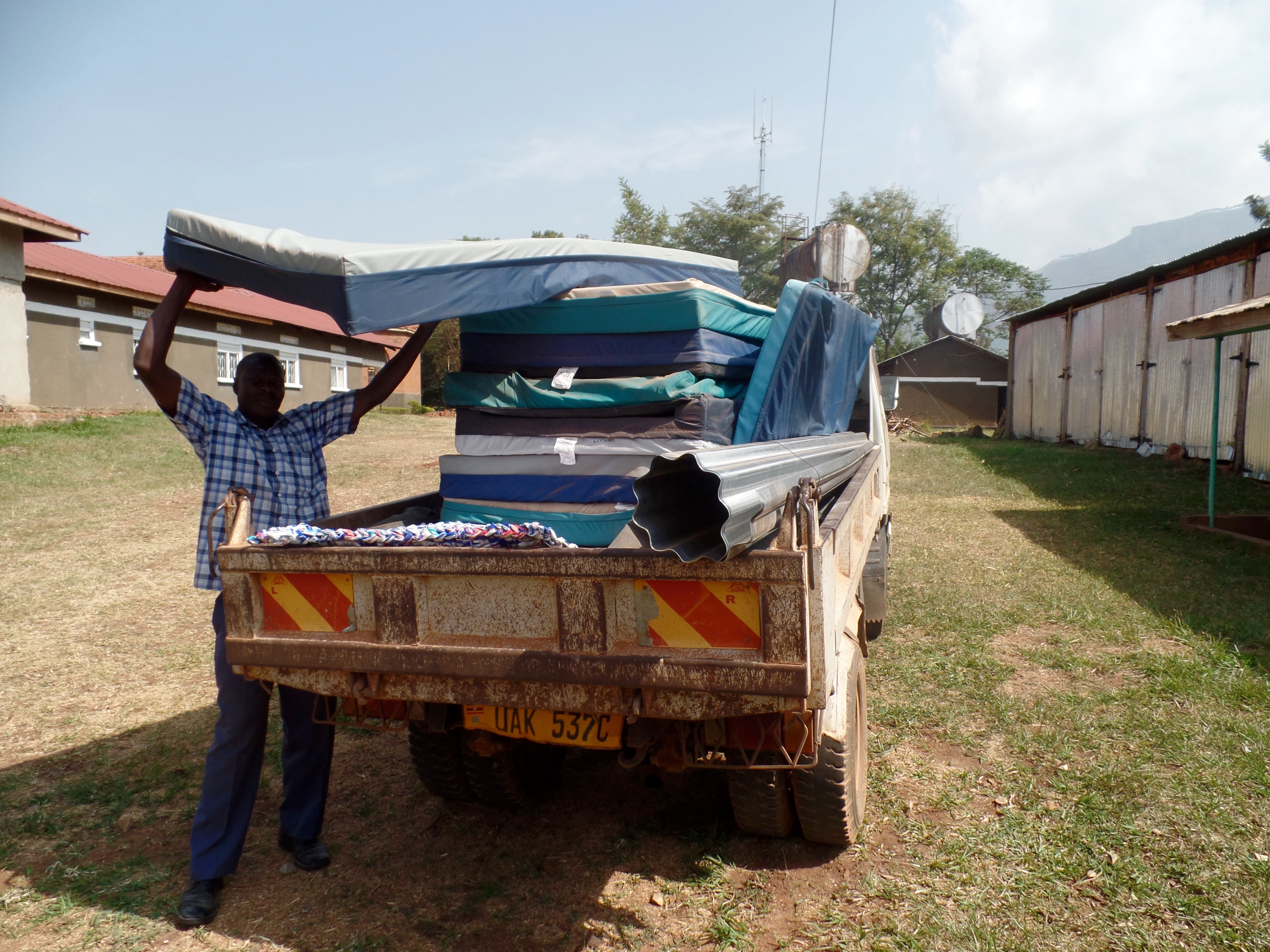 Mattresses for distribution