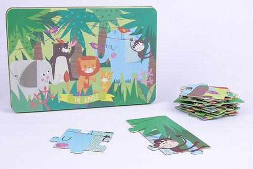"""Puzzle 24 pièces """"La jungle"""""""