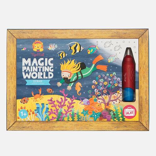 Tableau magique eau - océan