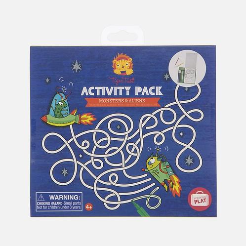 Set d'activités - aliens