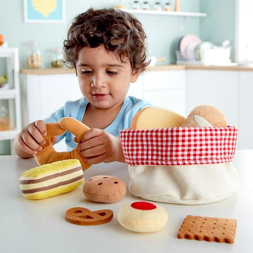 Panier de pains doux