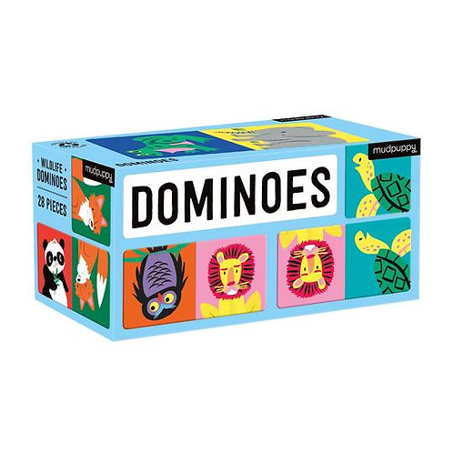 Dominos : animaux sauvages