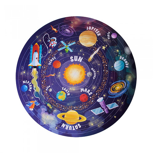 Puzzle système solaire (48 pièces)