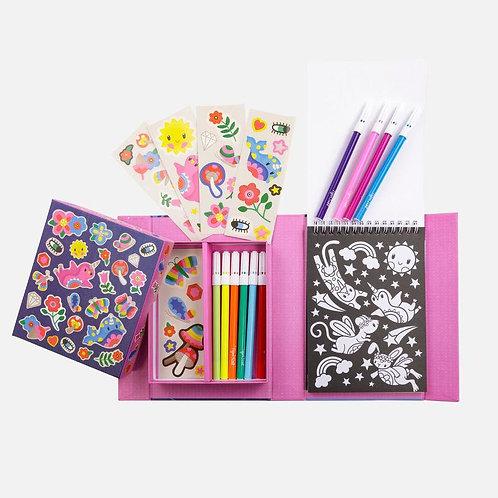 Set de coloriage - créatures magiques