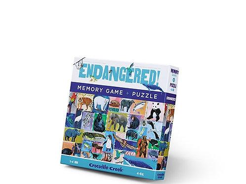 Puzzle et jeu de mémoire : animaux