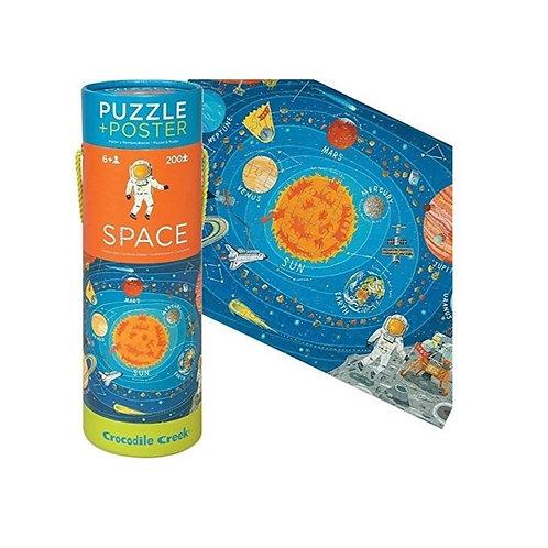 Puzzle espace - 200 pièces