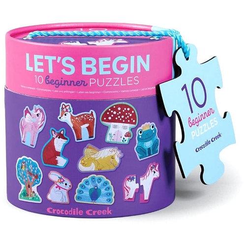 Puzzle licornes : 2 pièces