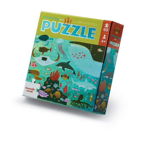Puzzle aluminium la mer - 60 pièces