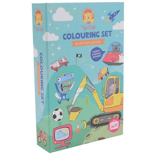 Set de coloriage - aventures
