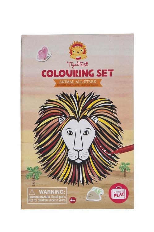 Set de coloriage - animaux