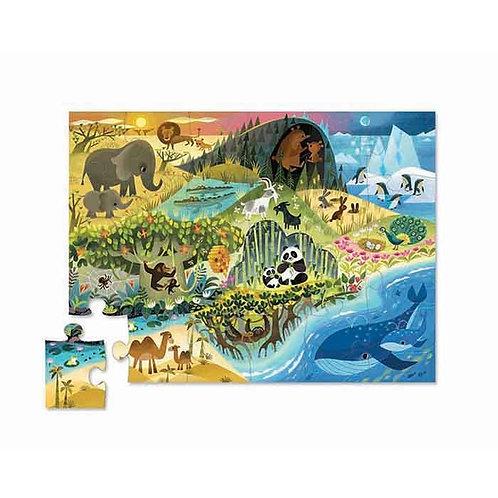 Puzzle cherche et trouve - animaux