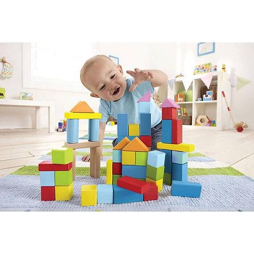 Barils de cubes en bois