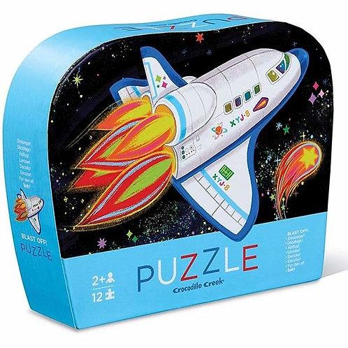 Puzzle fusée : 12 pièces