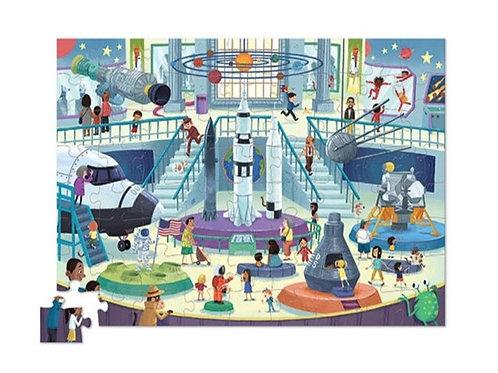 Puzzle musée de l'espace : 72 pièces