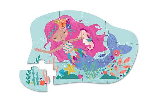 Puzzle sirène : 12 pièces