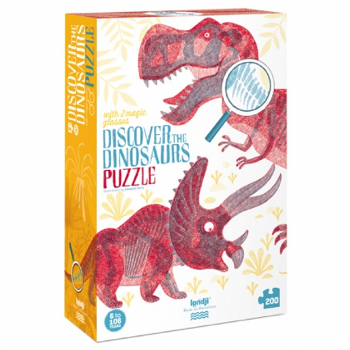 """Puzzle : """"Découvrir les dinosaures"""""""