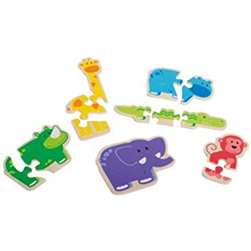 "Puzzle ""Happy animal"" bois"