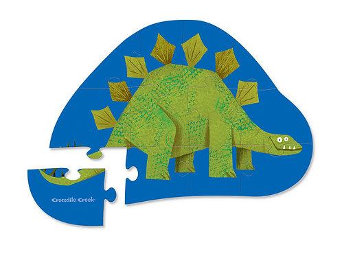 Puzzle stegosaurus : 12 pièces
