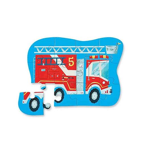 Puzzle pompiers : 12 pièces