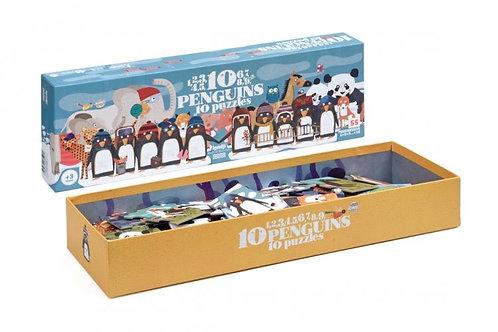 "Puzzle : ""10 pingouins"""