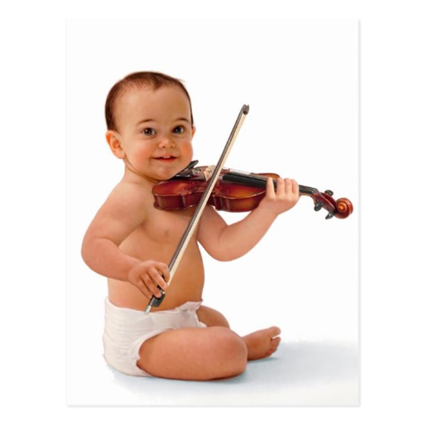 Découverte du violon  - Dès 9 mois jusqu'à 5 ans inclus