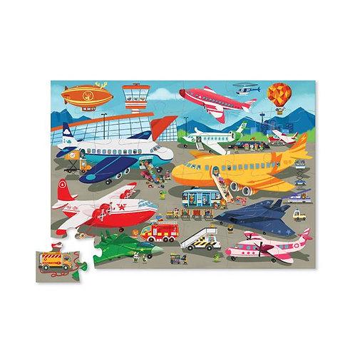 Puzzle avions : 36 pièces