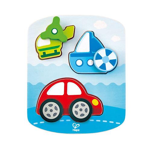 Puzzle dynamique : véhicules