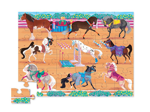 Puzzle chevaux : 36 pièces