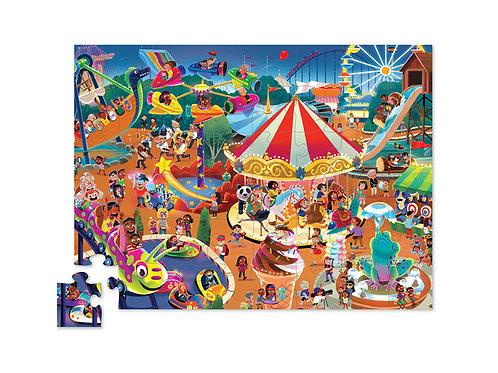 Puzzle fête foraine - 48 pièces
