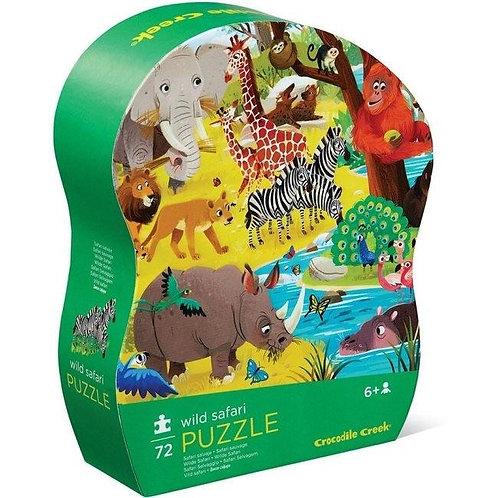 Puzzle safari : 72 pièces