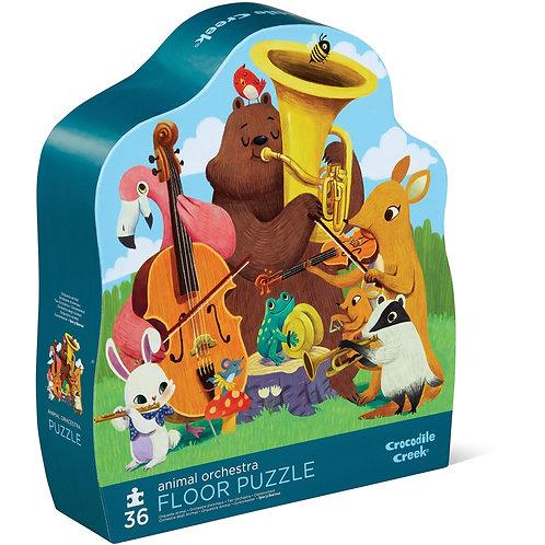 Puzzle l'orchestre des animaux : 36 pièces