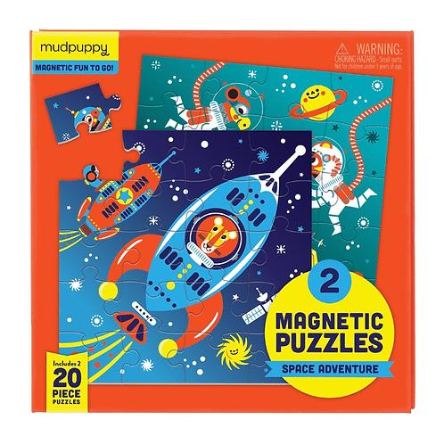 Puzzles magnétiques 20 pièces - aventure spatiale