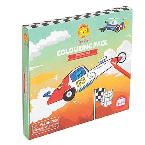 """Pack de coloriage """"Supercars"""""""