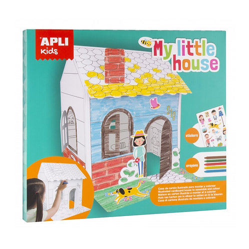 Maison en carton à construire