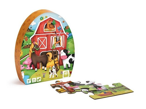 Puzzle ferme : 24 pièces