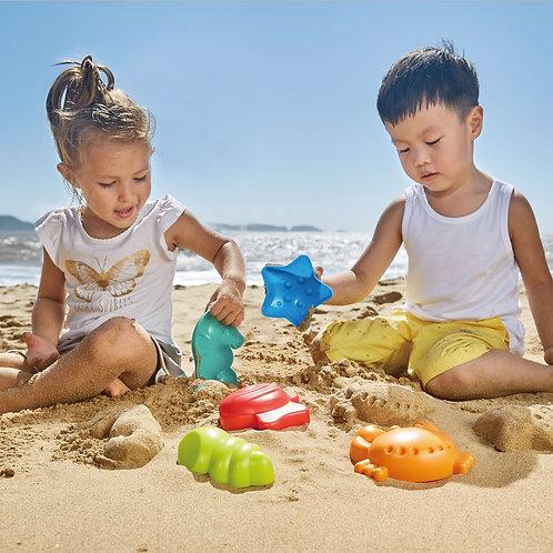 Jouets de sable : espèces marines