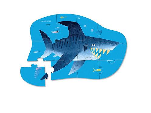 Puzzle requin : 12 pièces