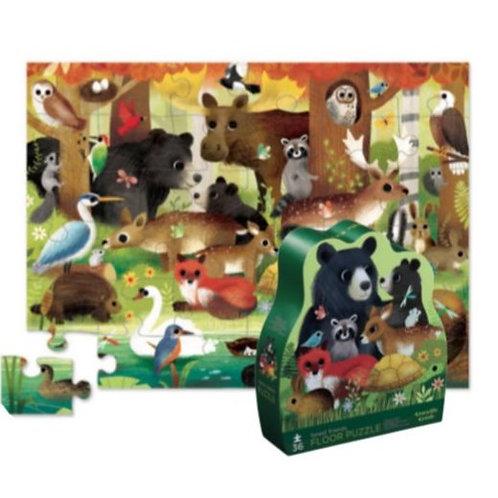 Puzzle forêt : 36 pièces