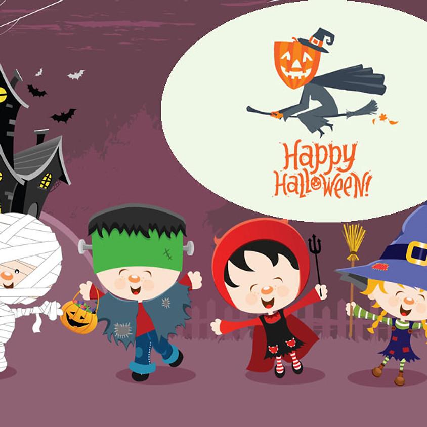 Atelier multi-activités 12 à 48 mois - Thème halloween - vendredi