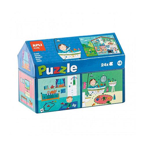 Puzzle Maisonnette : 24 pièces