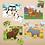 Thumbnail: 4 puzzles en 1 boîte - animaux