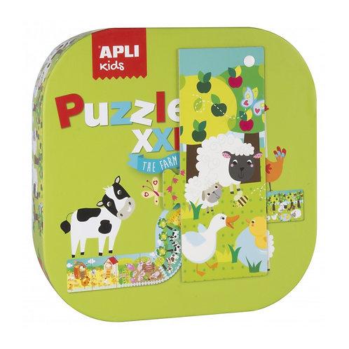 Puzzle XXL la ferme 12 pièces