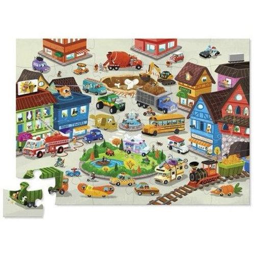 Puzzle ville animée : 36 pièces