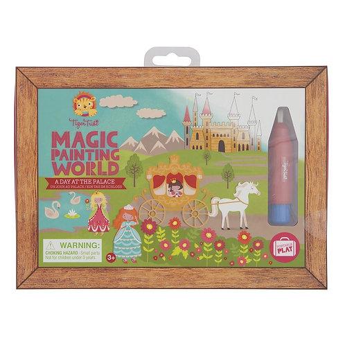 Tableau magique eau - princesses