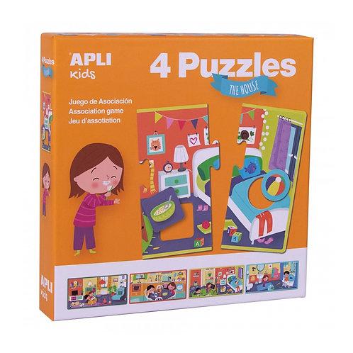 Puzzle Maison XXL : 4 pièces