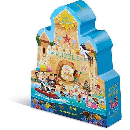 Puzzle Journée à la plage - 48 pièces