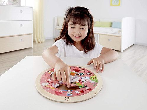 Puzzle circulaire : les métiers