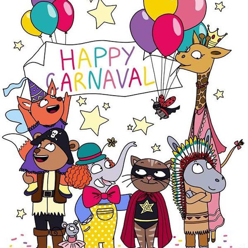 Atelier multi-activités 12 à 48 mois - thème carnaval - samedi